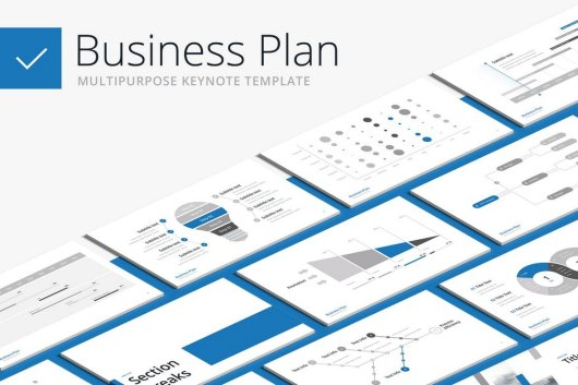 Business Plan - Animated Keynote Template