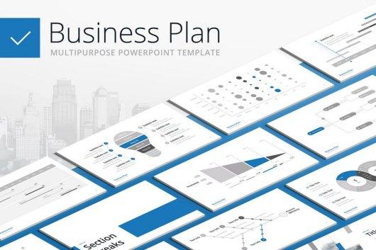 Business Plan - Multipurpose PowerPoint Template