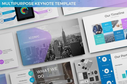 Cardinal - Animated Keynote Template