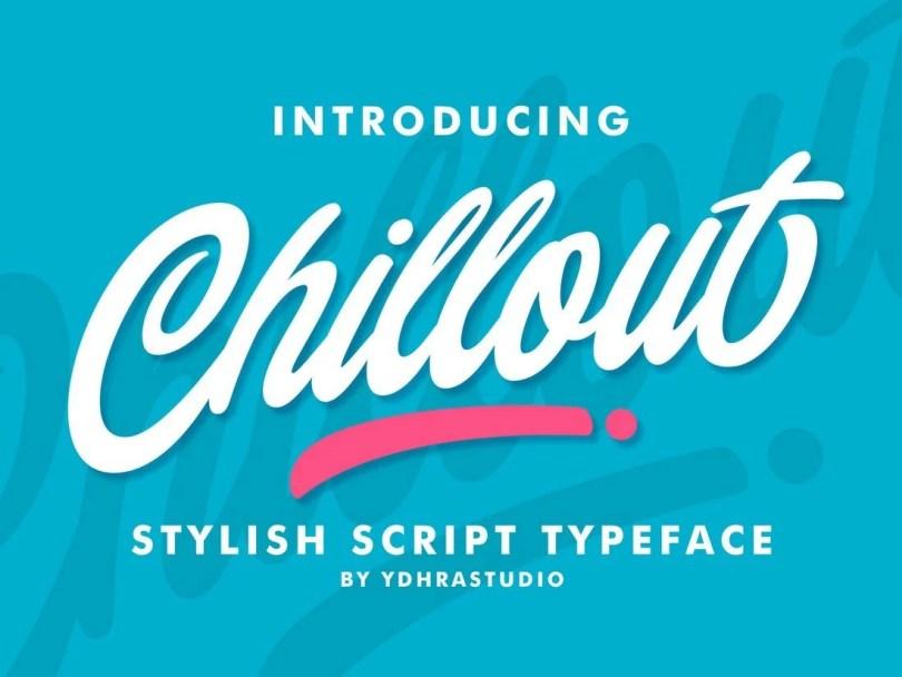 Chillout - Free Script Font