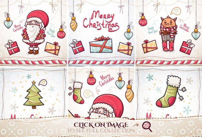 christmas-cards-set
