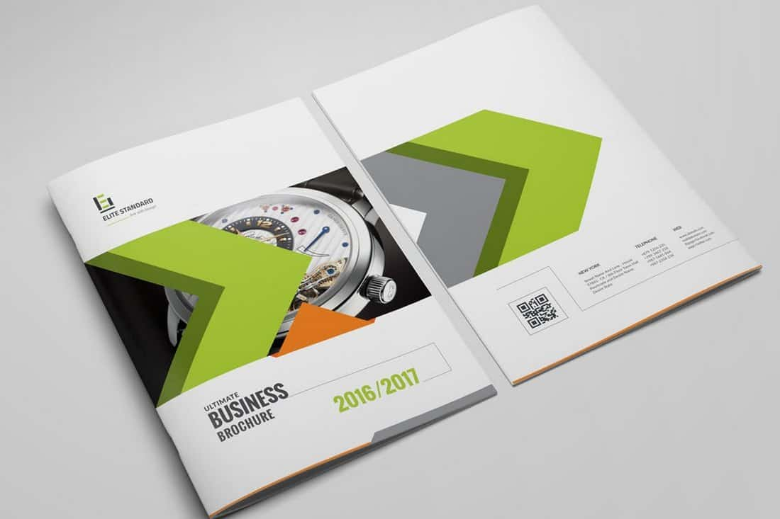 Classic Corporate Brochure Template