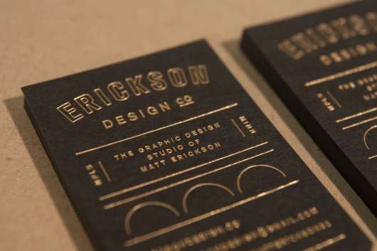 Classic Letterpress Business Card