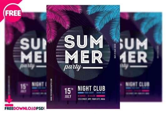 Club Party Flyer & Poster Template