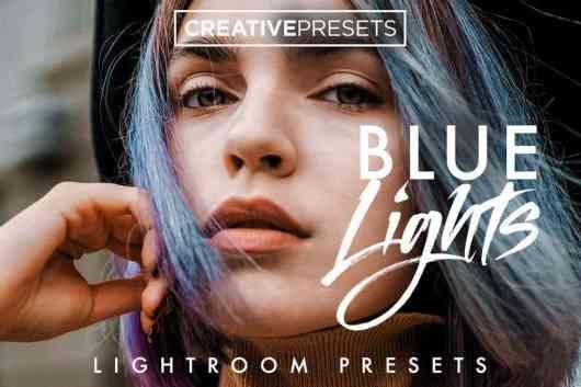 Cool Blue Lightroom Presets