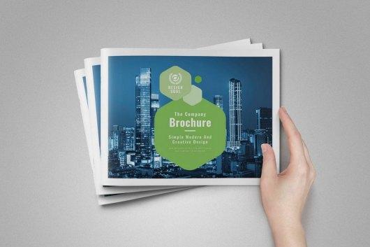 Corporate Landscape Brochure Template