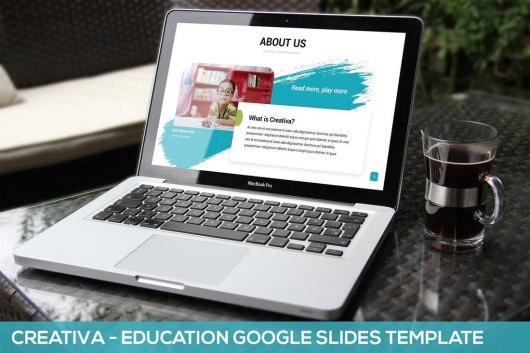 Creativa - Education Google Slides Template