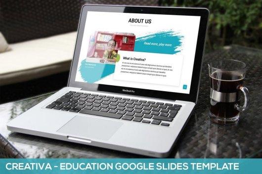 Creativa - Education Google Slides Template