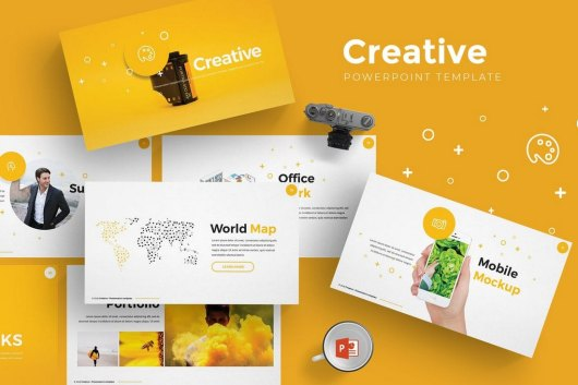 Creative - Cool Powerpoint Template