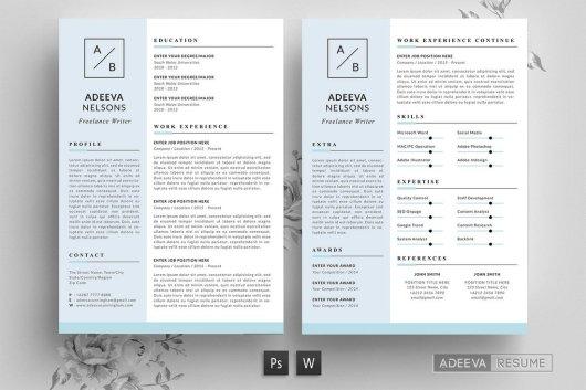Creative & Simple Resume Template