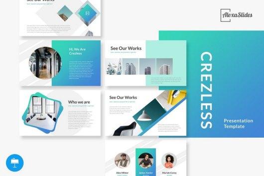 Crezless - Keynote Presentation Template