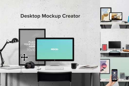 Desktop Mockup Creator