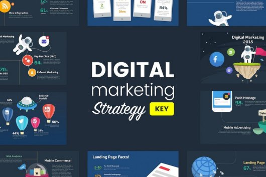 Digital Marketing Strategy - Animated Keynote Template