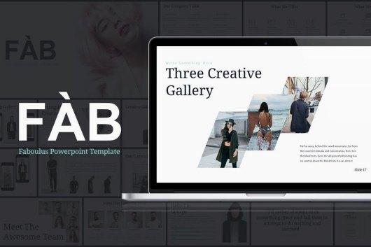 FAB - Powerpoint Presentation Template