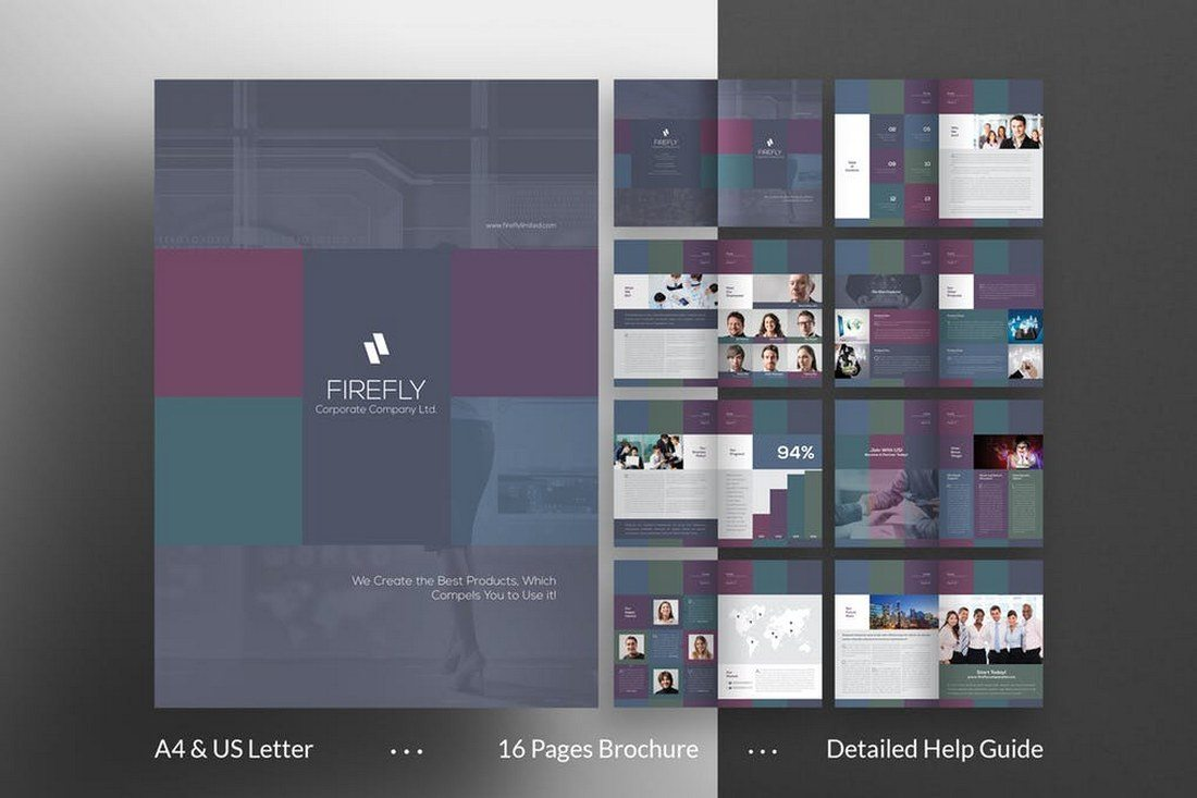 70+ Modern Corporate Brochure Templates 21