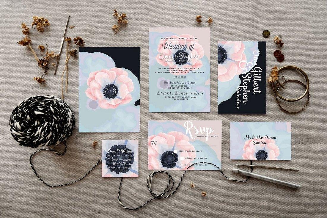 50 wonderful wedding invitation card