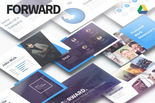 Forward - Multipurpose Google Slides Template