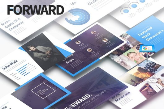 Forward - Multipurpose Keynote Presentation