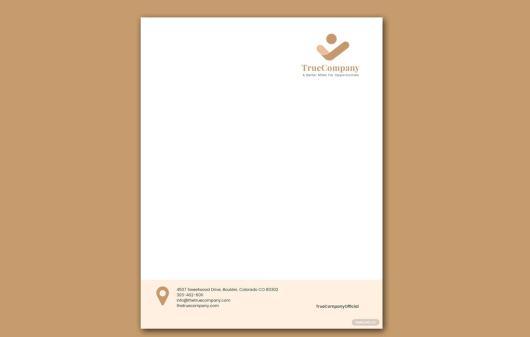 Free Corporate Letterhead Template