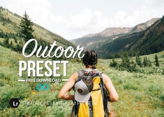 Free Outdoor Lightroom Preset