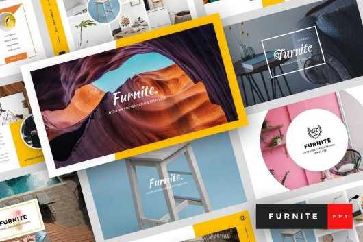 Furnite - Interior Design PowerPoint Template