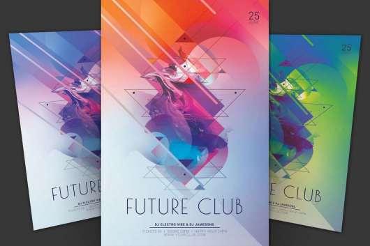 Future Club Flyer