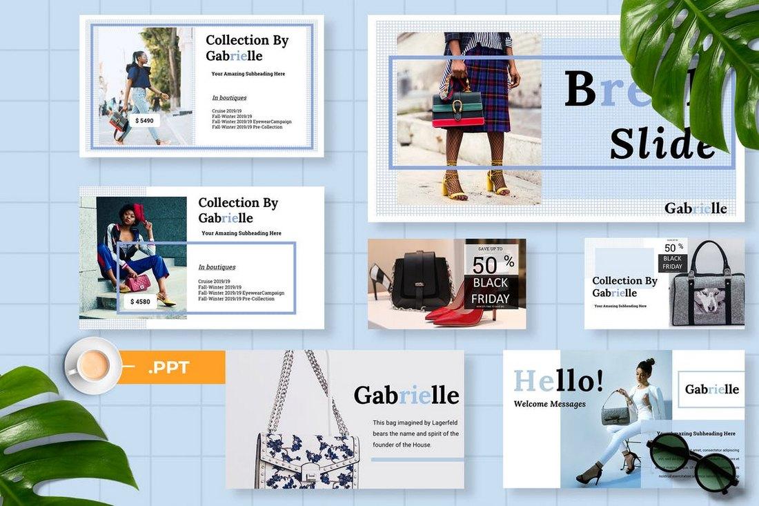 Gabrielle Powerpoint Presentation
