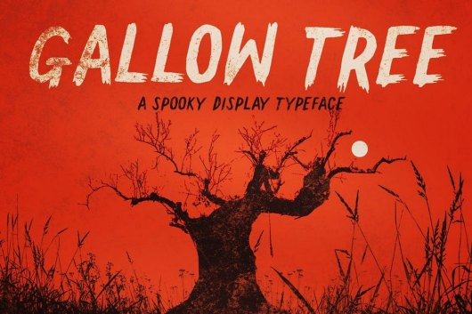 Gallow Tree - Halloween Font
