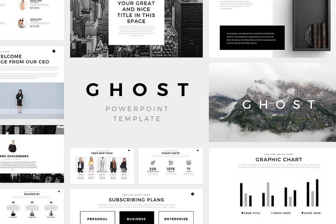 60+ Beautiful, Premium PowerPoint Presentation Templates 66