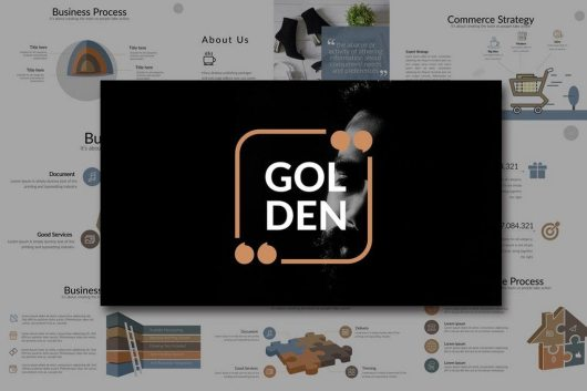 60 beautiful premium powerpoint presentation templates irc web golden powerpoint template price envato elements subscription toneelgroepblik Gallery