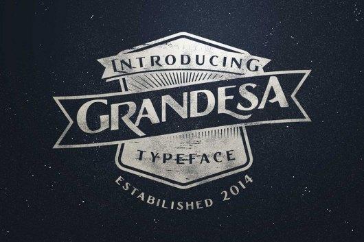 Grandesa - Retro Typeface