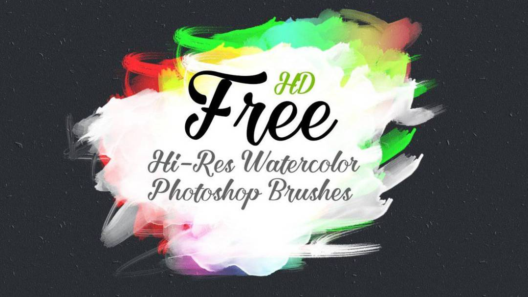 HD Watercolor Photoshop Brushes