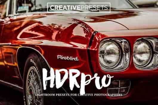 HDR PRO Lightroom Presets