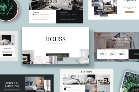 HOUSS - Powerpoint Template