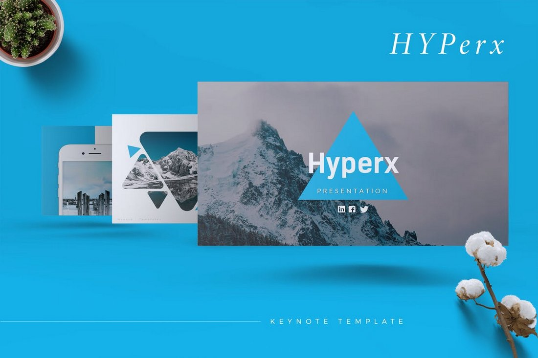 HYPERX - Keynote Template