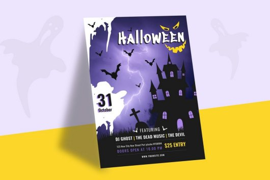 Halloween Celebrations Party Flyer