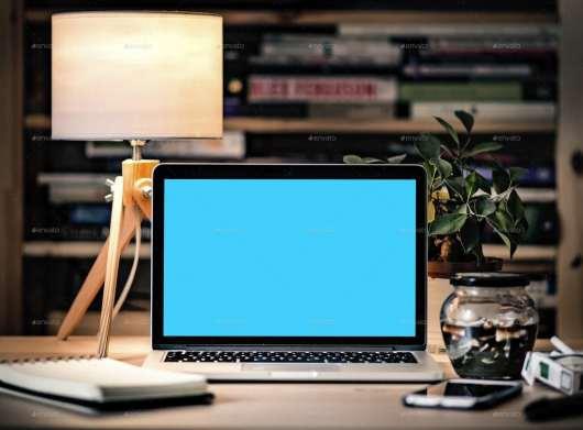 Hero Image Laptop Mockup