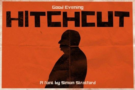 Hitchcut Quirky Display Fonta