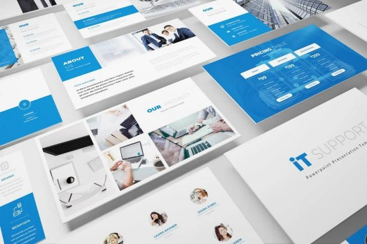 IT Support - Technology Powerpoint Template