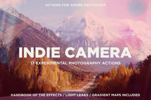 Indie Camera - Instagram Photoshop Actions