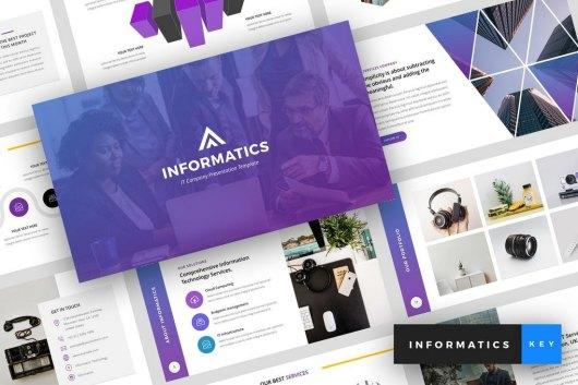 Informatics - IT Company Keynote Template