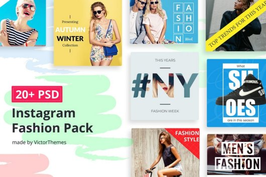 Instagram Social Media Fashion Banners