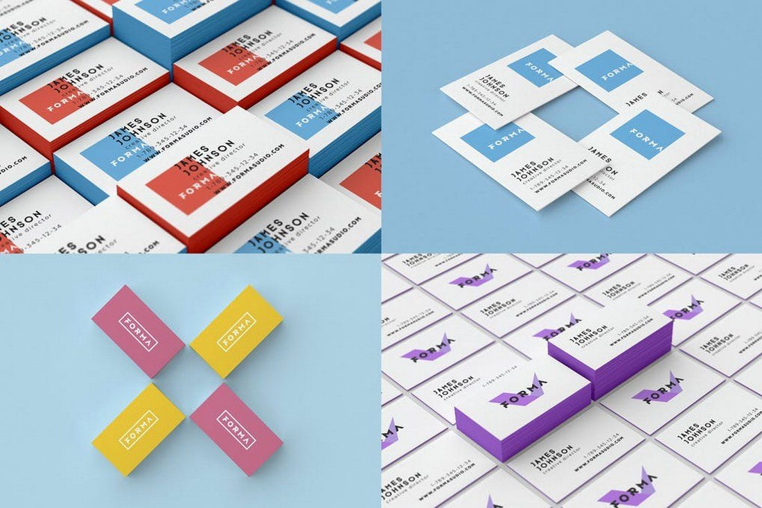20 best isometric mockup templates coastal media brand web this bundle of isometric mockups gives you more than enough mockup templates for showcasing your different types of business card designs magicingreecefo Image collections