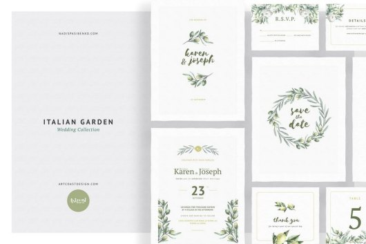 Italian Garden Wedding Collection