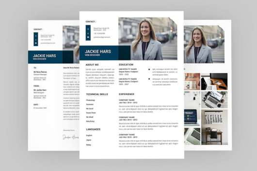 Jackie - Complete Professional Resume Template