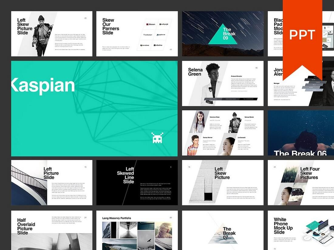60+ Beautiful, Premium PowerPoint Presentation Templates 67