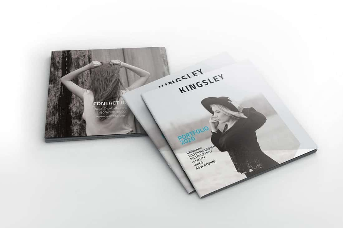 Kingsley Square Portfolio Brochure Template