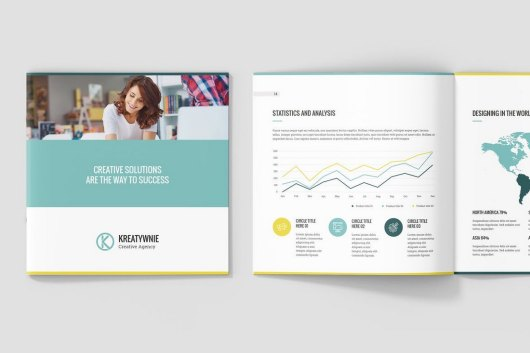 Kreatywnie – Creative Agency Profile Template