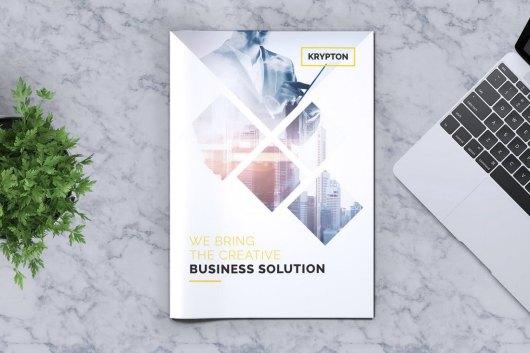 Krypton - Corporate Word Brochure Template