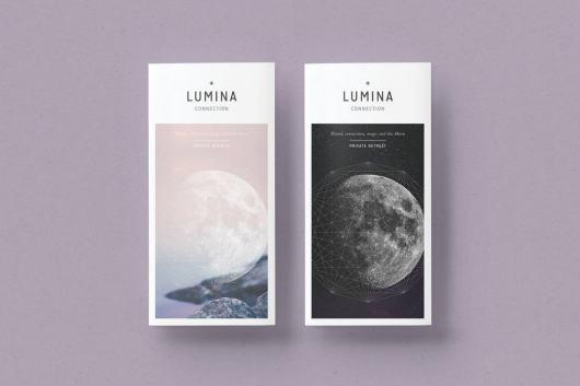 LUMINA Trifold Brochure Template